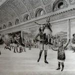 Amhira und Semire im Eispalast von Versailles