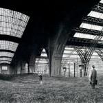Erinnerung an den Bahnhof Leipzig, Bleistiftzeichnung